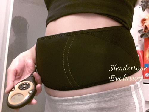 初めて装着したスレンダートーン エボリューション